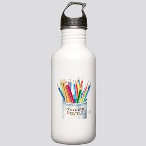 My Colored Pencils Stainless Water Bottle 1.0L