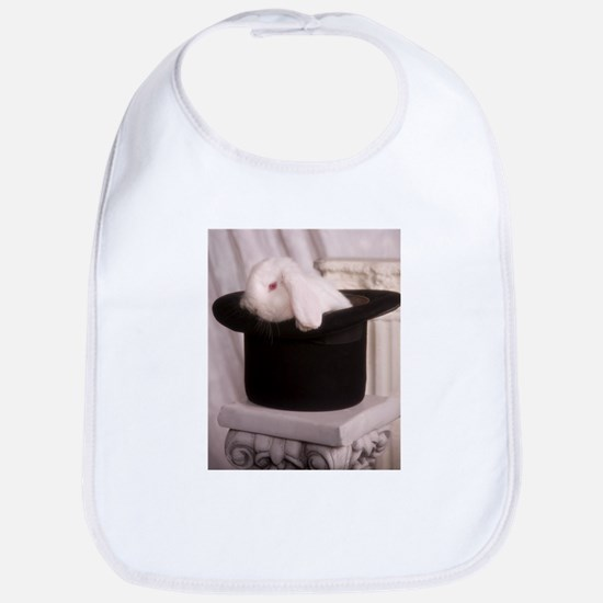 Top Hat Bunny Bib