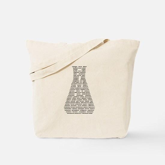 Funny Chemistry Tote Bag