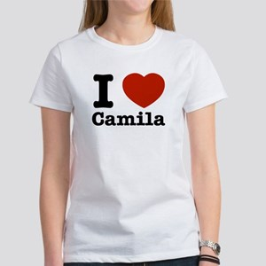 I love Camila Women's T-Shirt