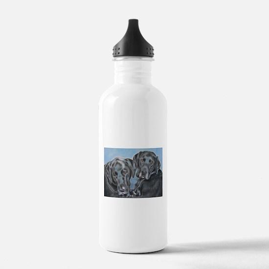 Cute Labrador retriever Water Bottle
