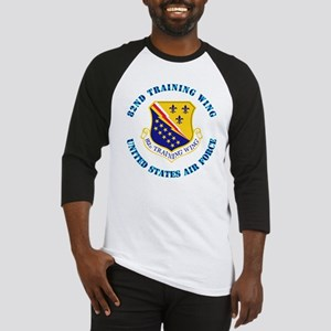 82nd Training Wing with Text Baseball Jersey