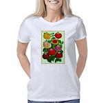 Chinese Lantern Vintage Fl Women's Classic T-Shirt