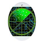 Radar4 Ornament (Oval)