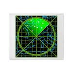 Radar4 Throw Blanket
