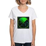 Radar4 Women's V-Neck T-Shirt