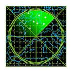 Radar4 Tile Coaster