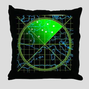 Radar4 Throw Pillow