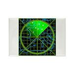 Radar4 Rectangle Magnet