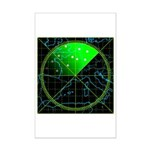 Radar4 Mini Poster Print