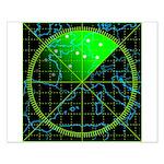 Radar4 Small Poster