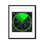 Radar4 Framed Panel Print