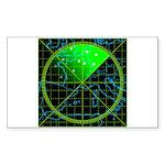 Radar4 Sticker (Rectangle)