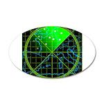 Radar4 22x14 Oval Wall Peel