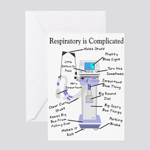 More Respiratory Therapy Greeting Card