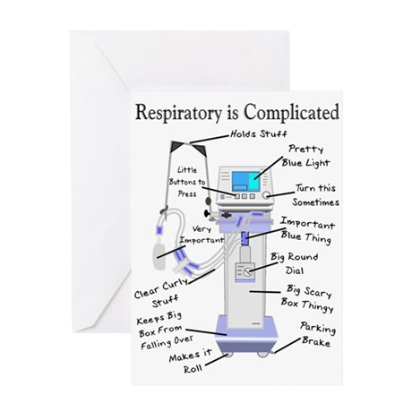 More Respiratory Therapy Greeting Card by nurseii