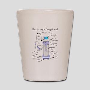 More Respiratory Therapy Shot Glass