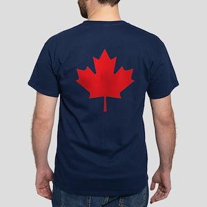 Canadian Maple Leaf Dark T-Shirt