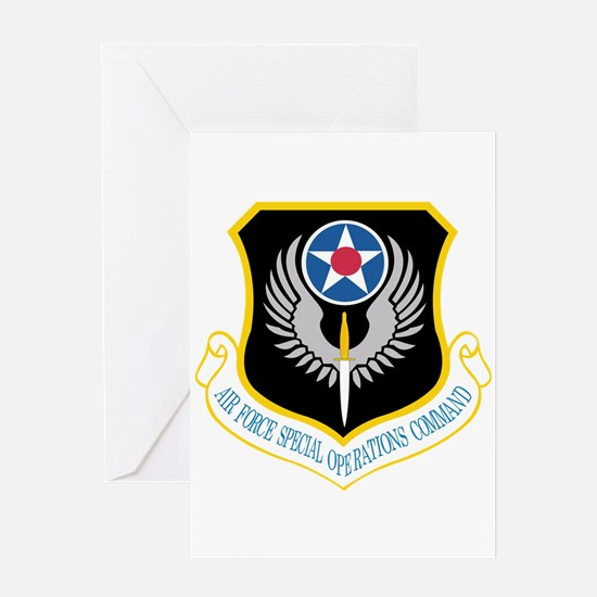 Air Force Special Operations Command Greeting Card