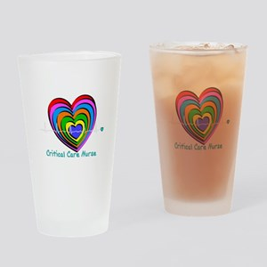 Critical Care Nurse Drinking Glass