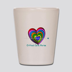Critical Care Nurse Shot Glass