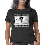 darts-pub-pirate-trans Women's Classic T-Shirt