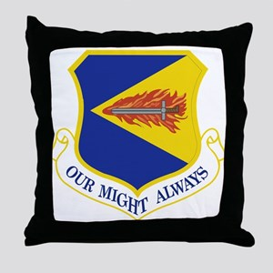 355th Fighter Wing Throw Pillow