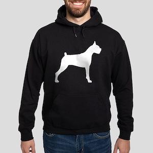 Boxer Dog Hoodie (dark)