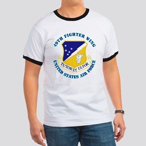 49th Fighter Wing with Text Ringer T