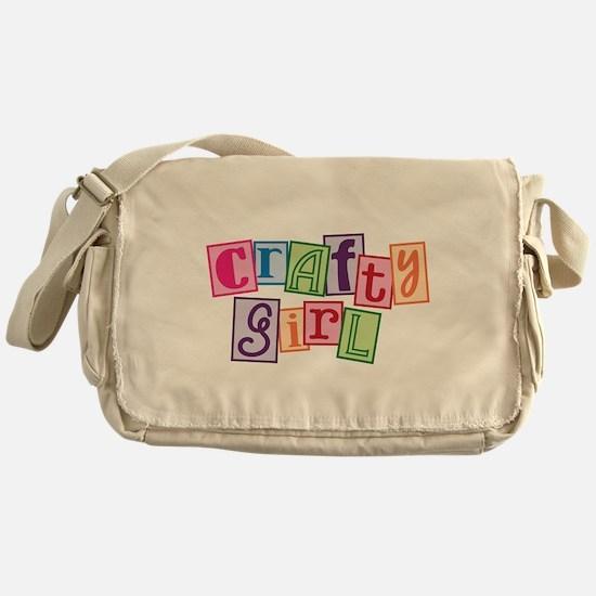 Crafty Girl Messenger Bag