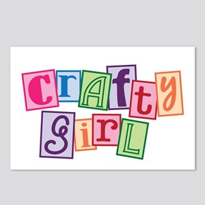 Crafty Girl Postcards (Package of 8)