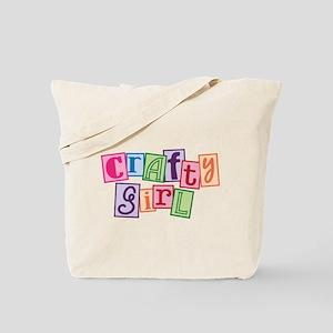 Crafty Girl Tote Bag