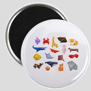 Origami Animals Magnet