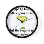 Grain Of Salt Wall Clock