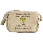 Grain Of Salt Messenger Bag
