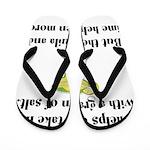 Grain Of Salt Flip Flops