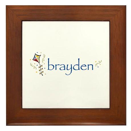 Brayden Framed Tile