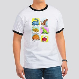 Saurus Shirts Ringer T