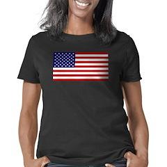 American Flag Women's Classic T-Shirt