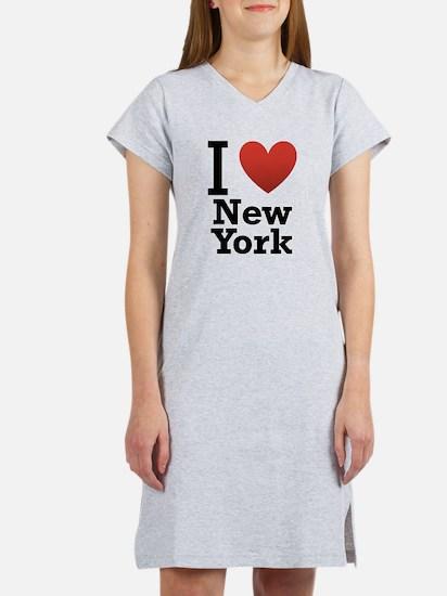 I love New York Women's Nightshirt