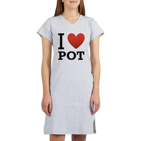 I Love Pot Women's Nightshirt