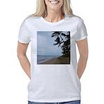 Maui Beach Palms Women's Classic T-Shirt