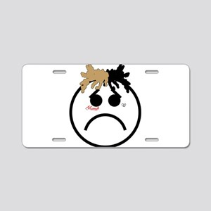 Xxxtentacion emoji Aluminum License Plate