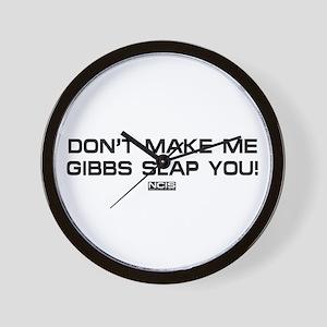 NCIS: Gibbs Slap Wall Clock