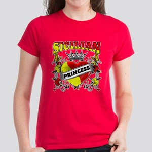Sicilian Princess Women's Dark T-Shirt