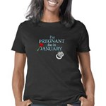 Im Pregnant due in January Women's Classic T-Shirt