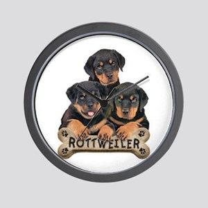its a puppy thing! Wall Clock