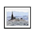 USS FLORIDA Framed Panel Print