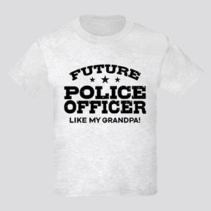 Future Police Officer Kids Light T-Shirt