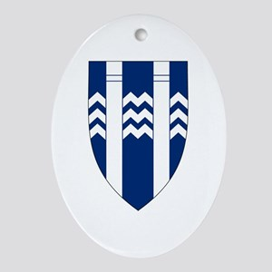 Reykjavik Coat of Arms Oval Ornament